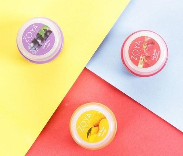 Zoya Cosmetics Lip Balm mengandung vitamin E dan shea butter /shoope.co.id