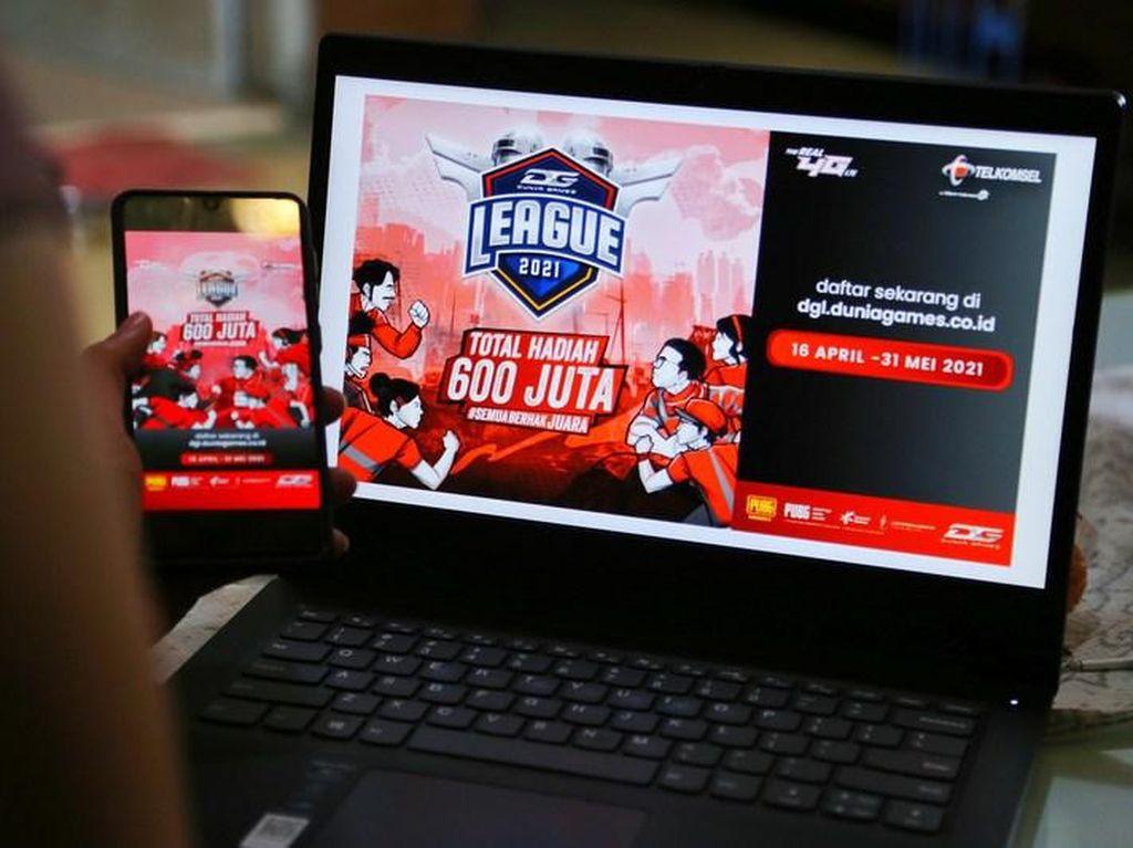 Dunia Games League 2021, Bantu Gamer Indonesia Jadi Lebih Jago