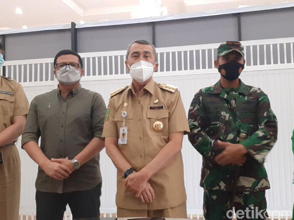 Gubernur Riau Geram Ada Ustaz Ceramah Sebut Corona Kerjaan Yahudi