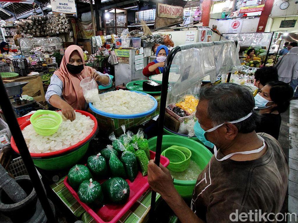 Foto: Kolang-kaling Jadi Primadona di Bulan Puasa