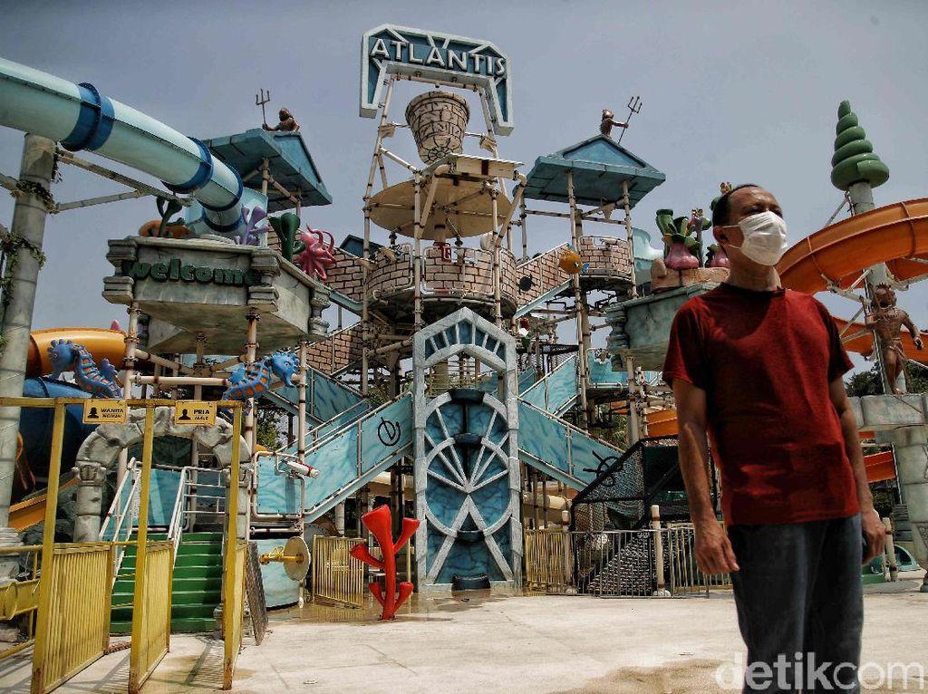 Air Kolam Renang Atlantis Keruh, Pengelola: Itu Hal Biasa