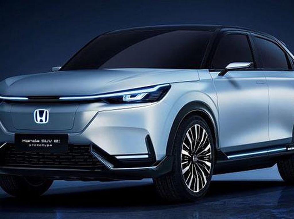 Meluncur Tahun Depan, Begini Bentuk SUV Listrik Honda