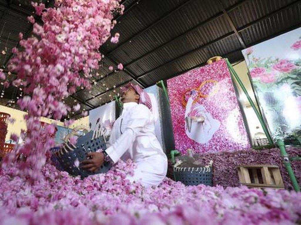 Foto: Kota Mawar di Arab Saudi