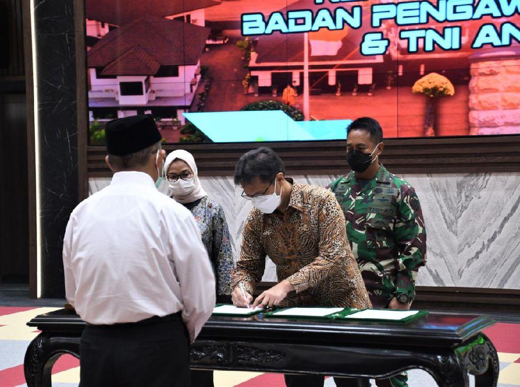 TNI AD-Menkes-BPOM Sepakati Penelitian Sel Dendritik untuk Atasi Covid-19