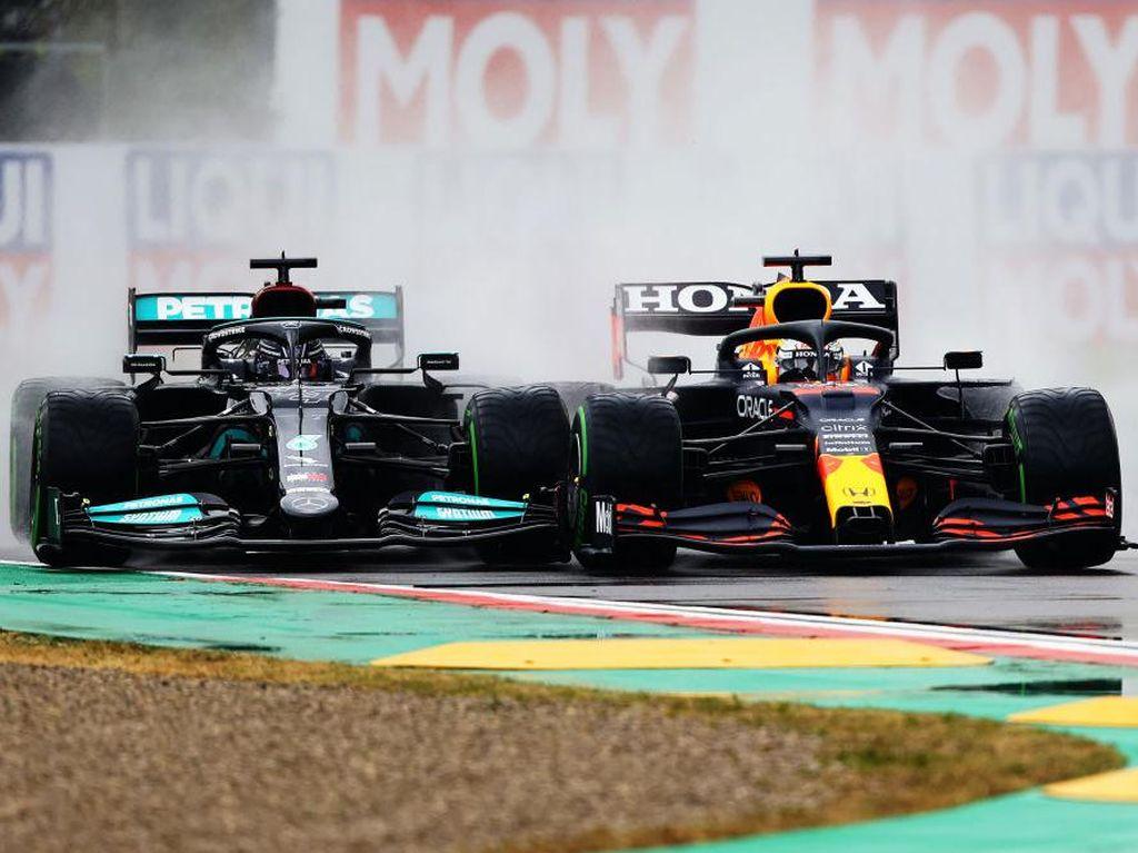 Hasil F1 GP Emilia Romagna: Verstappen Kalahkan Hamilton Usai Senggolan