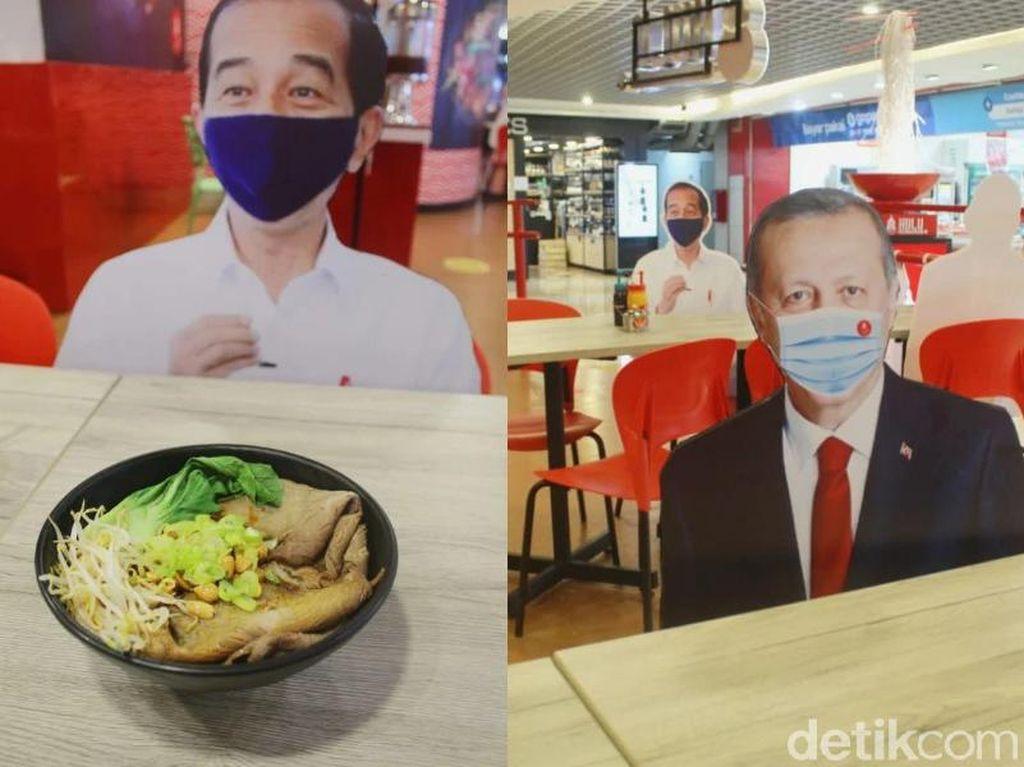 Di Restoran Ini Bisa Makan Satu Meja Bareng Jokowi dan Joe Biden