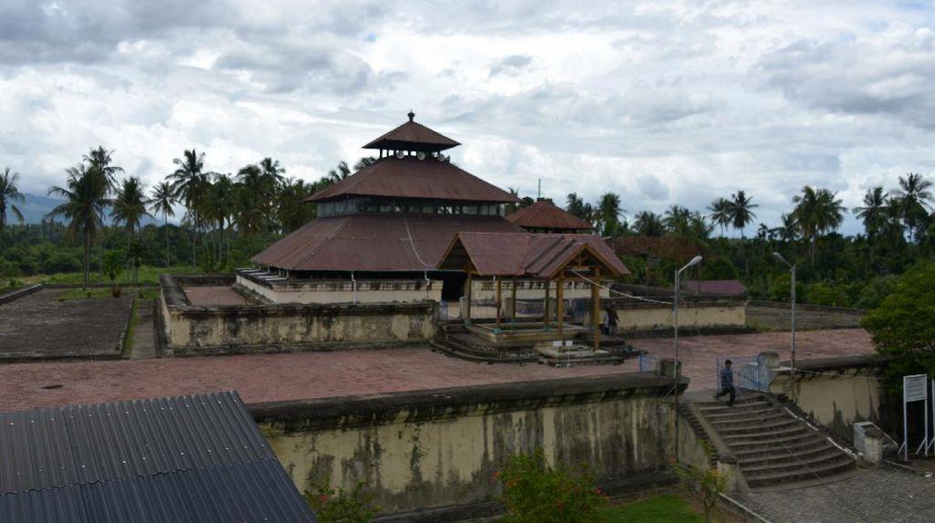 Masjid Ini Jadi Saksi Sejarah Peradaban Hindu-Islam di Tanah Rencong
