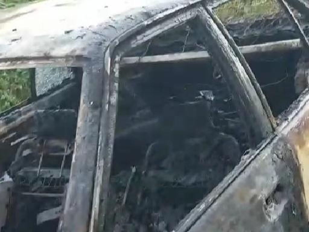 Ada Mayat dalam Mobil Terbakar di Sulsel, Polisi Selidiki Dugaan Pembunuhan