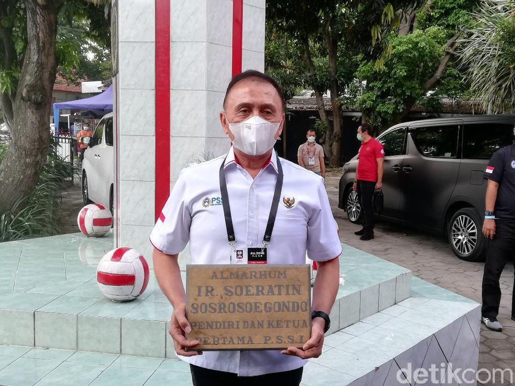 PSSI Ultah ke-91, Iwan Bule Napak Tilas ke Situs Ketum Pertama