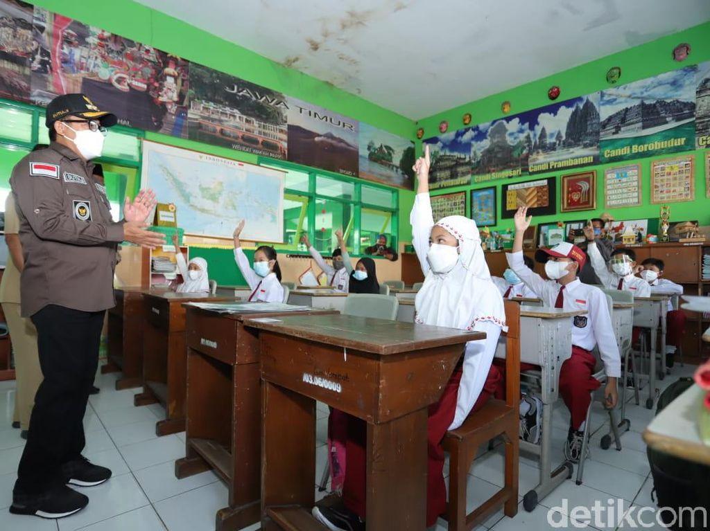 Sekolah Tatap Muka Digelar Hari Ini di Kota Malang