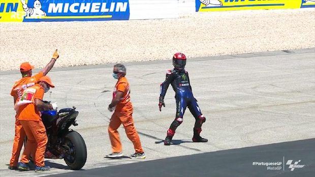 VIDEO: Selebrasi Quartararo Usai Menang motoGP Portugal