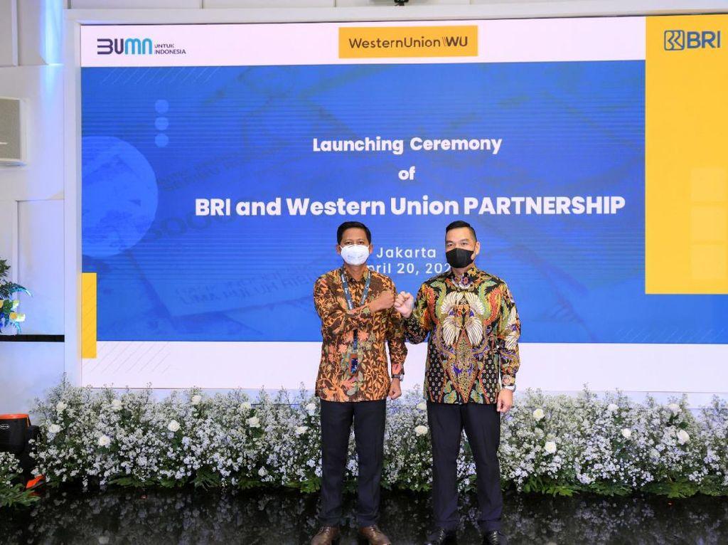 BRI Gandeng Western Union Layani Transfer Dana dari Luar Negeri