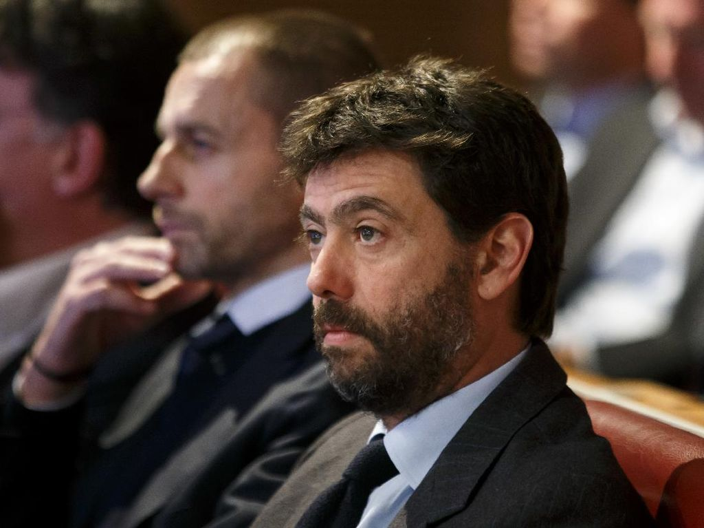 Presiden UEFA Sudah Tak Anggap Bos Juventus Ada