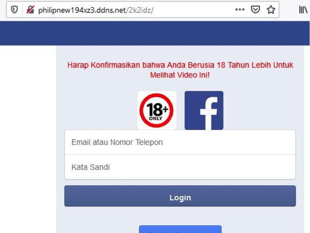 Tag Link Porno Facebook Sudah Bersih?