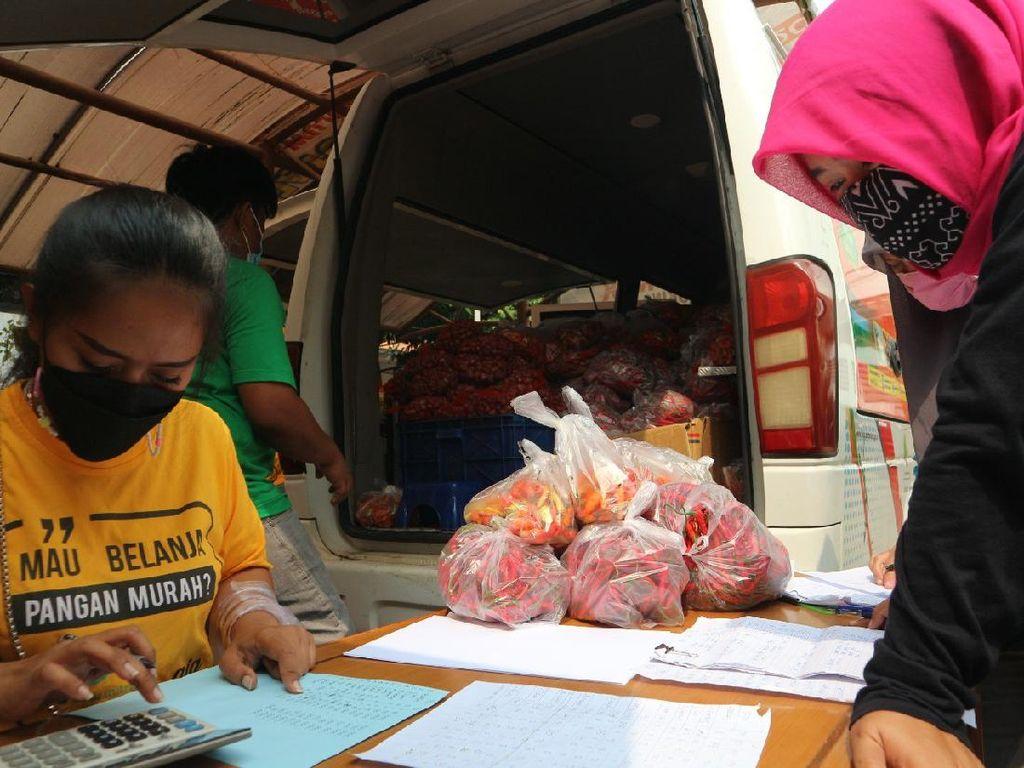 GPM Pasar Mitra Tani Bantu Warga Penuhi Kebutuhan Pangan Ramadhan
