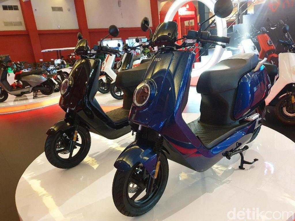 Jadi Merek Motor Listrik Nomor 1 di Eropa,  NIU Bawa 3 Skuter ke IIMS 2021