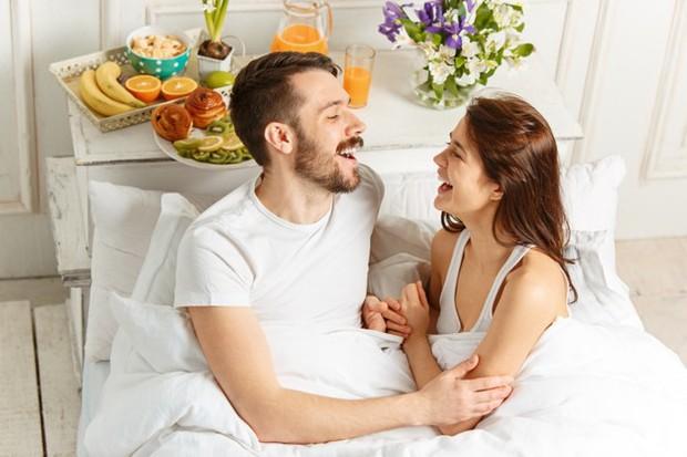 Potret pasangan bahagia