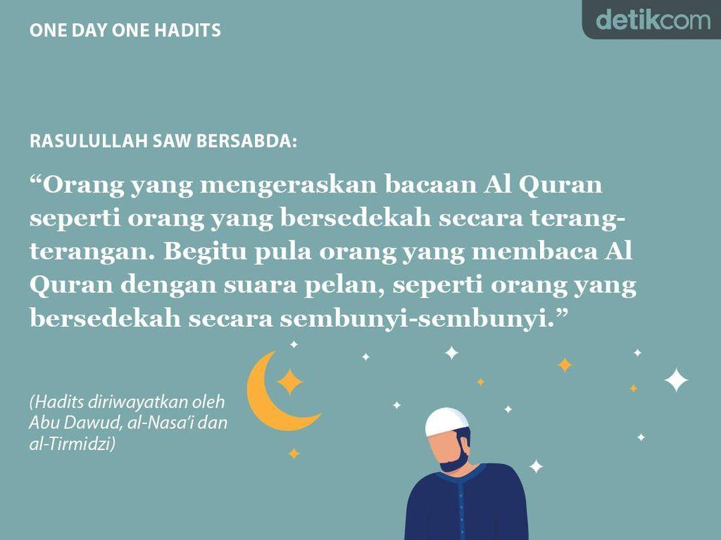 Orang yang Mengeraskan Bacaan Al Quran
