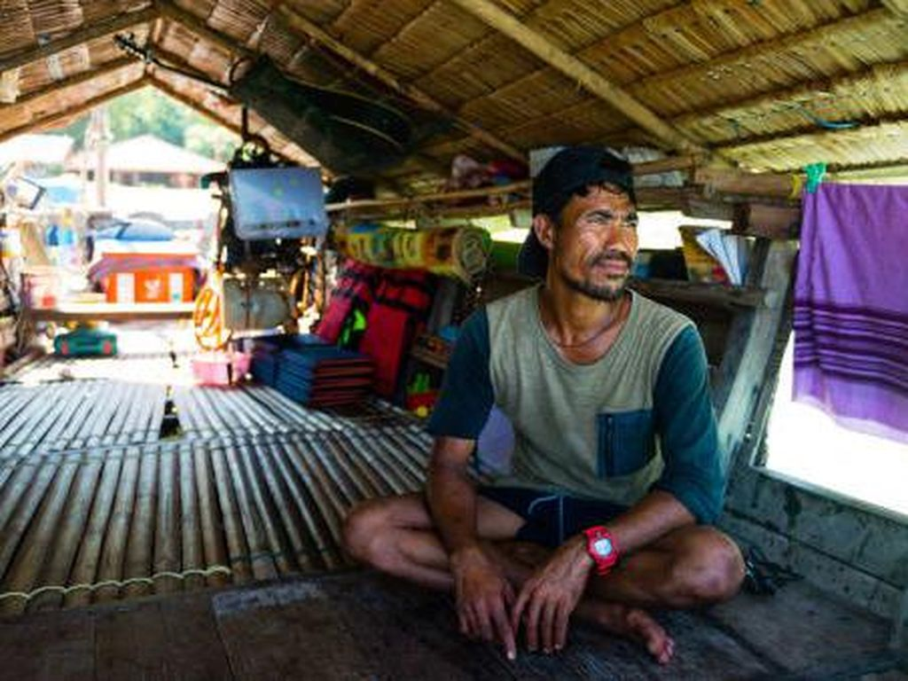 Ratusan Tahun di Atas Air, Orang Laut Thailand Dipaksa Mendarat