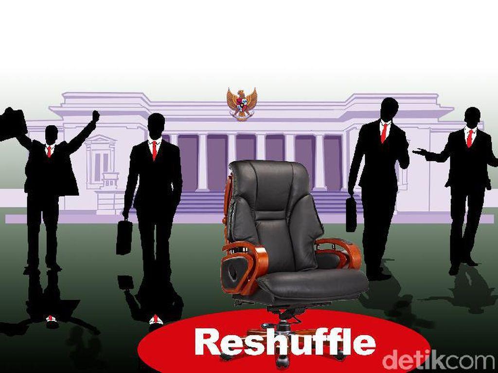 Reshuffle Kabinet Diumumkan Besok Rabu 21 April?