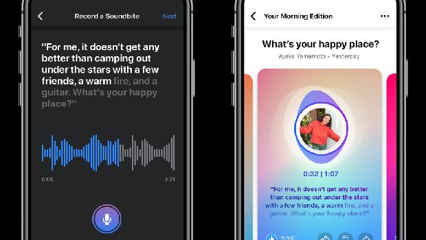 Soundbites aplikasi audio Facebook serupa Clubhouse