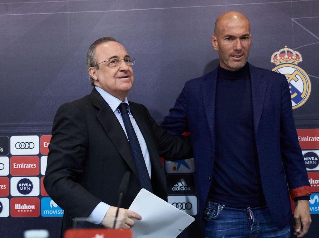 Soal European Super League, Zidane: Tanya ke Presiden Saja