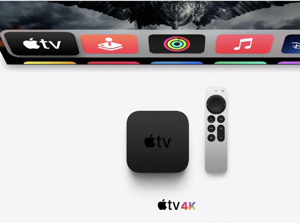 Apple TV 4K 2021 Sekencang iPhone XS dan Punya Remote Baru