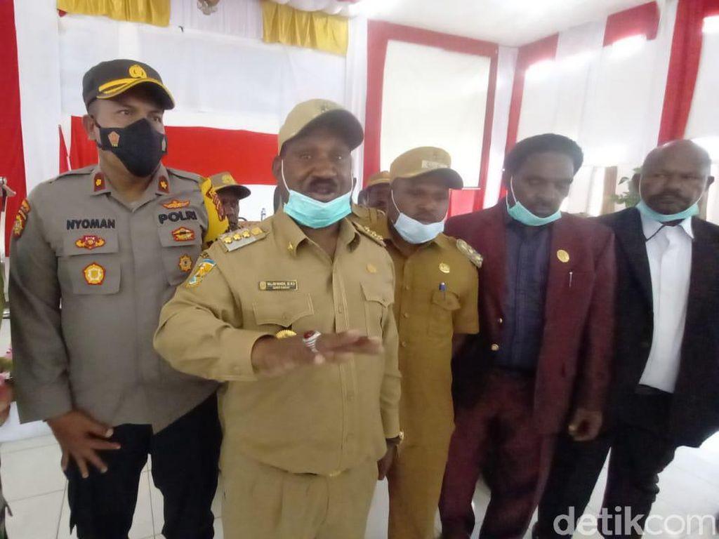 Bupati Puncak Tantang KKB Perang Terbuka Lawan TNI-Polri!