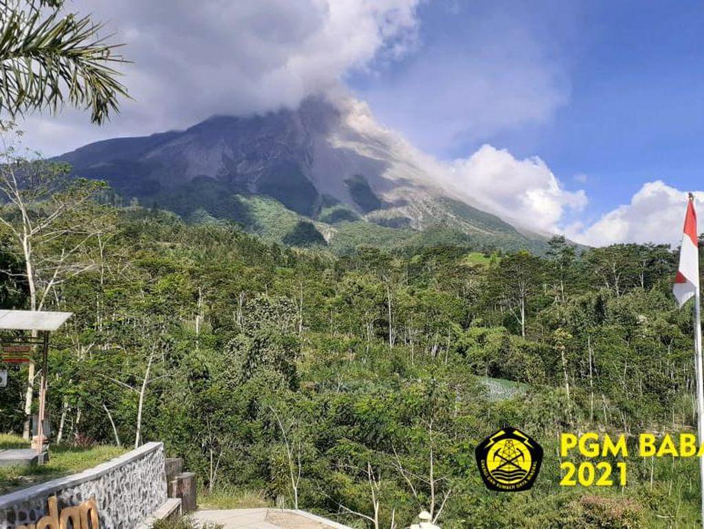 Gunung Merapi Erupsi, BPPTKG Ungkap Pertumbuhan 2 Kubah Lava