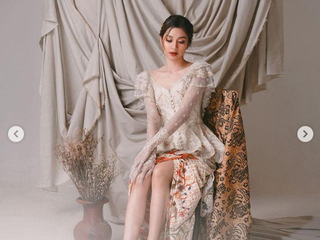 10 Artis Cantik Tampil Berkebaya di Hari Kartini, Pesonanya Bikin Terpana