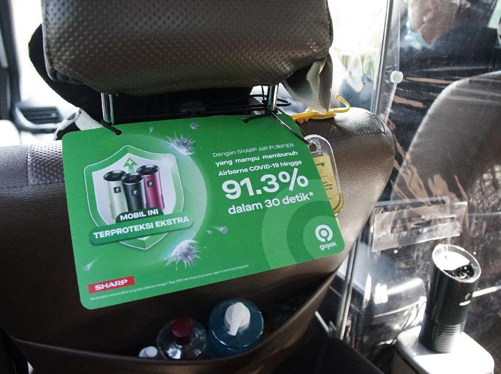 Cegah Penularan Corona, GoCar Pasang Air Purifier