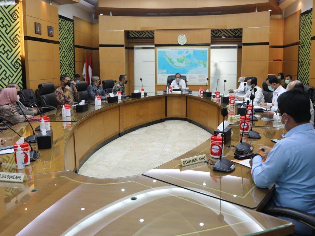 Bahas Pilkada Aceh 2022 dengan Mahfud, DPRA Tunggu Sikap Politik Pusat