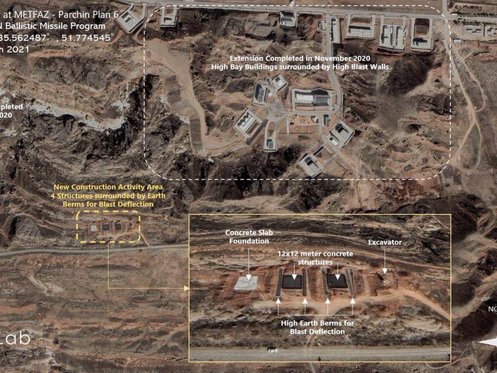 Foto Satelit Ungkap Iran Bangun Gedung Baru di Kompleks Senjata Nuklir