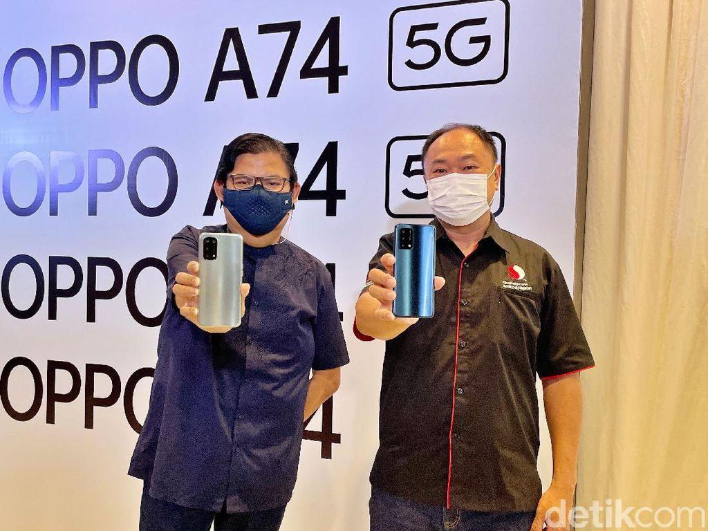 Oppo A74 Punya Varian 5G,  Harganya Rp 3 Jutaan