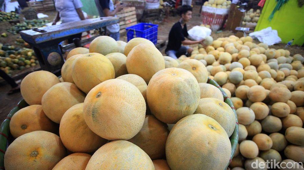 Penjualan Melon Meningkat Selama Ramadhan
