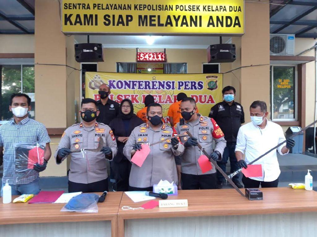 Tawuran Perang Sarung Berujung Maut di Tangerang, Pelaku Ditangkap