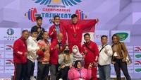 Rahmat Erwin Juga Kantongi Perunggu di Kejuaraan Asia Angkat Besi