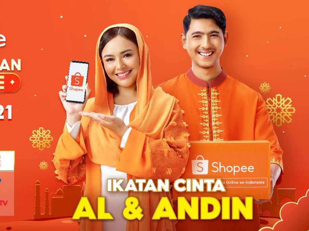 AL & Andin Punya Kejutan di Shopee Big Ramadan Sale