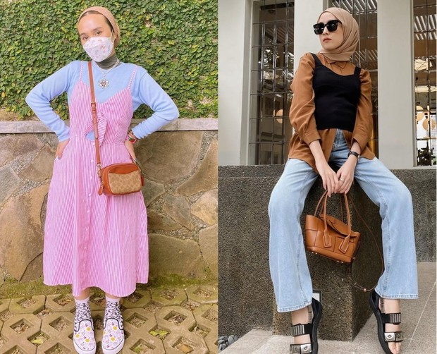 Korean hijab look