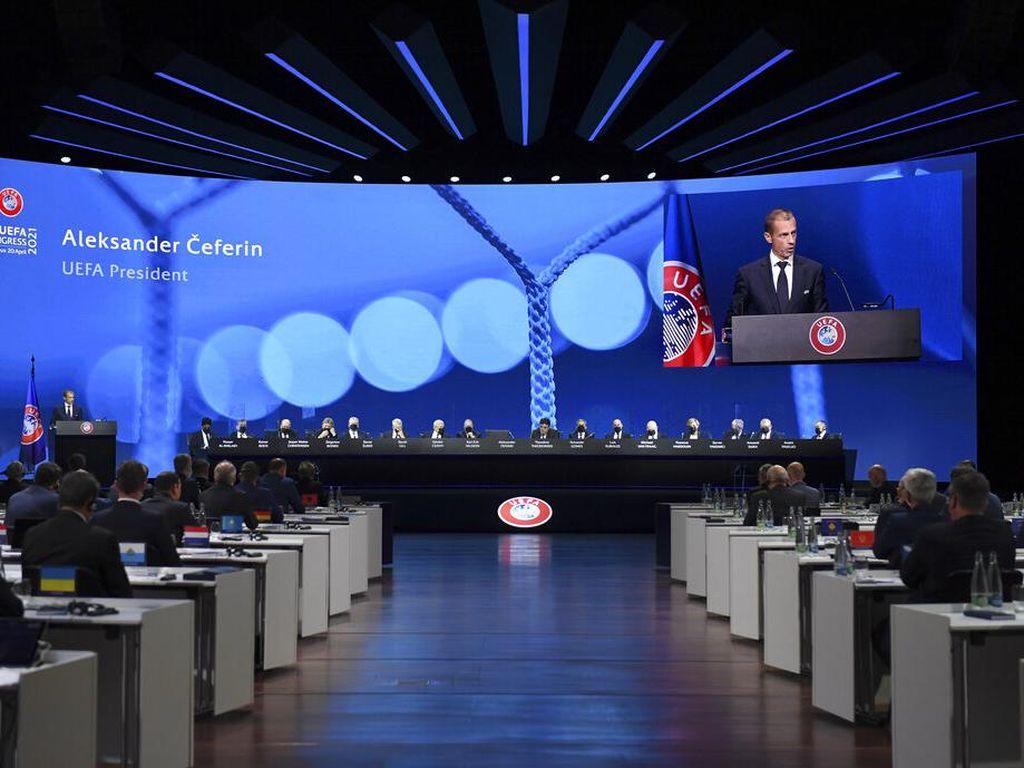 UEFA Cari Sumber Dana baru untuk Matikan European Super League