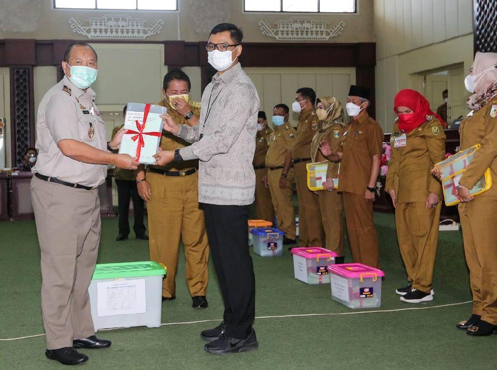 PLN, BPN &KPKSinergi, Amankan 457 Persil Tanah di Lampung