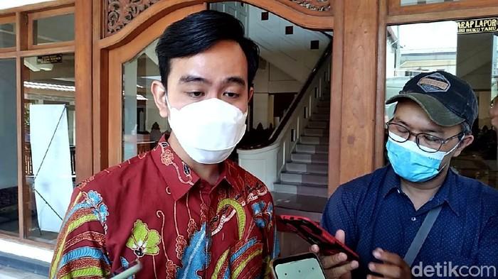 Wali Kota Solo Gibran Rakabuming Raka, Rabu (21/4/2021).