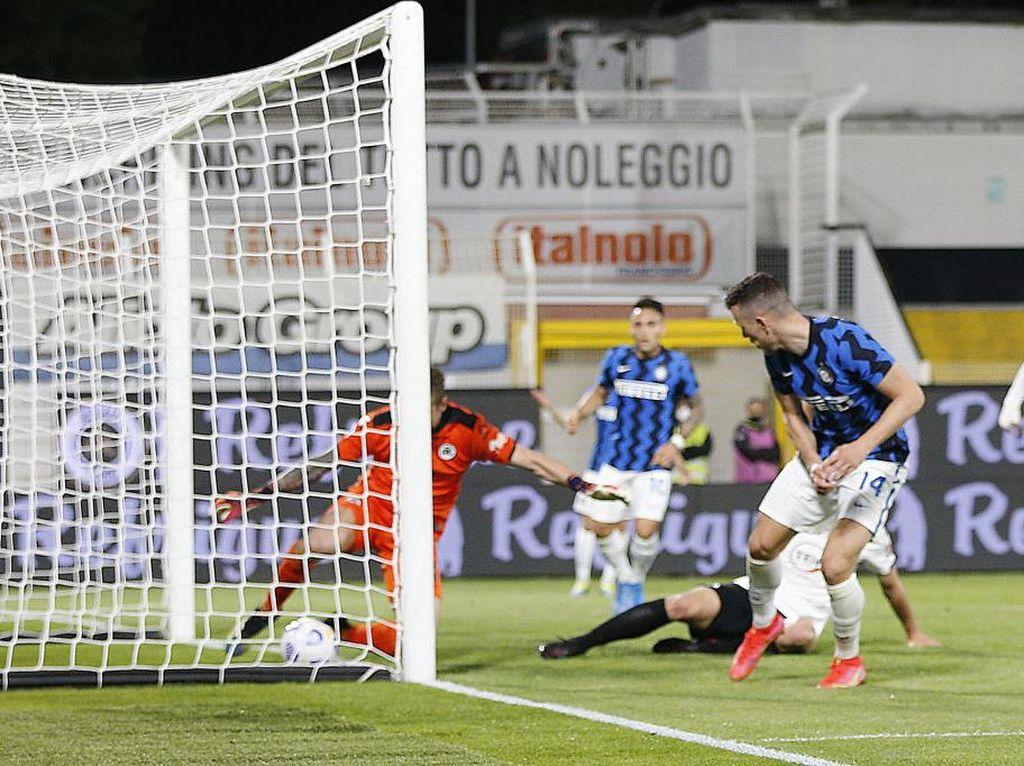 Spezia Vs Inter: Nerazzurri Tertahan 1-1