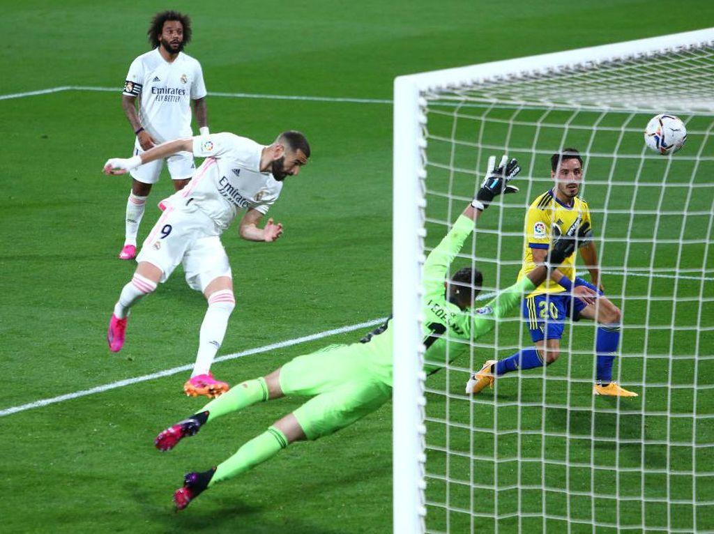 Cadiz Vs Madrid: Menang 3-0, Los Blancos ke Puncak Klasemen