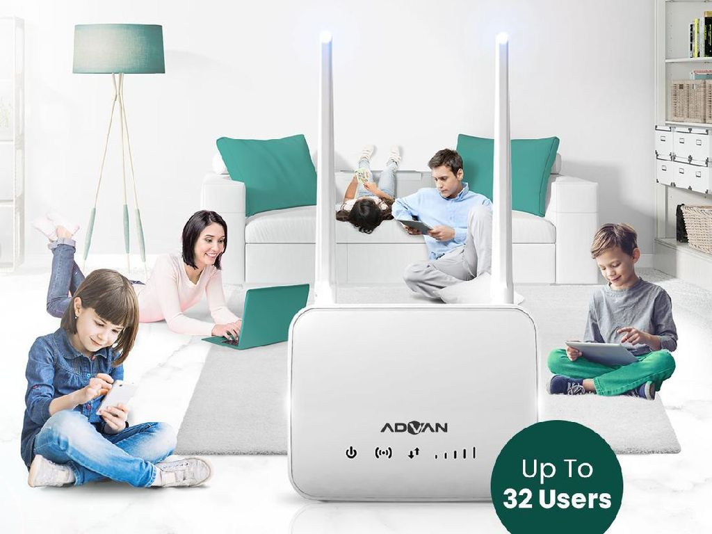 Advan CPE Router Start, Dukung Koneksi Cepat Tanpa Kuras Dompet