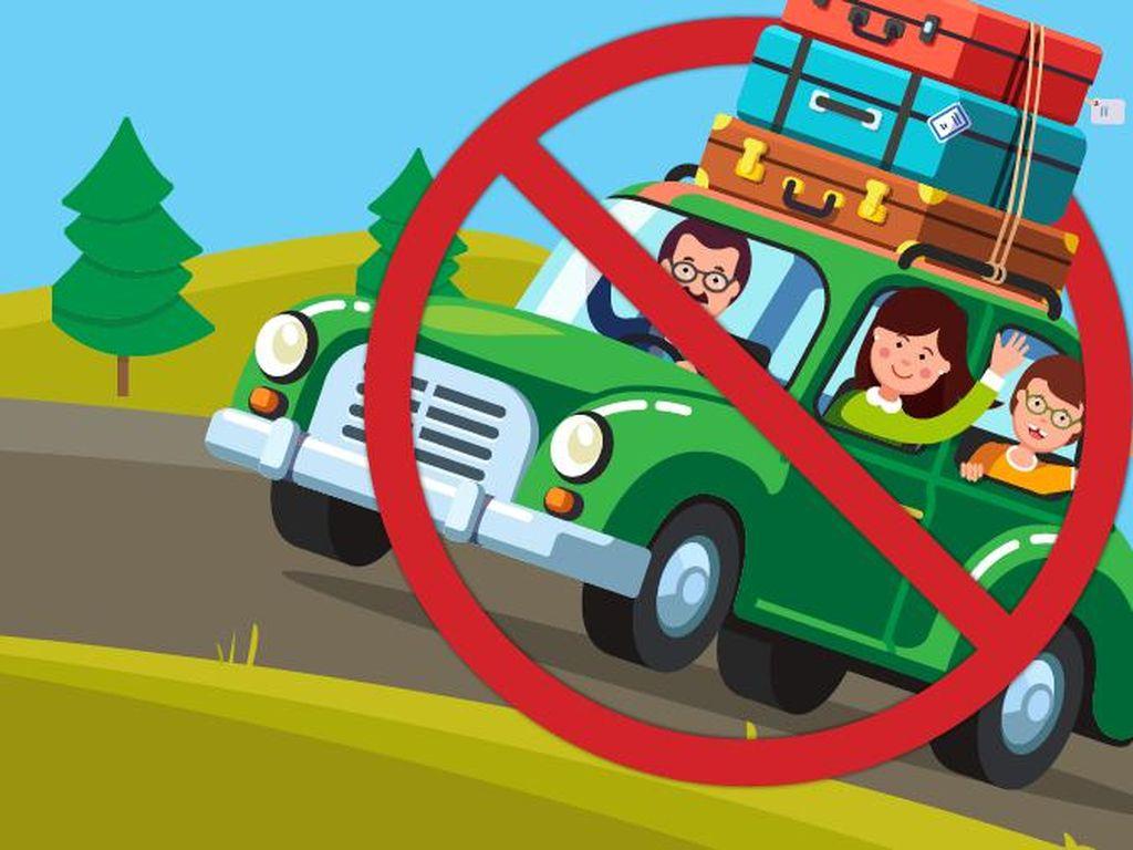 Hati-hati Nekat Mudik Naik Angkutan Gelap, Ini Bahayanya
