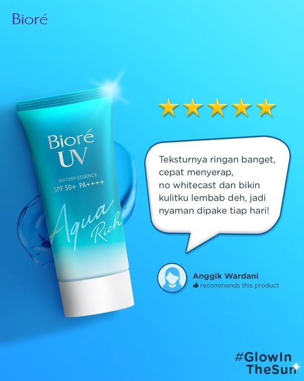 Biore UV Aqua Rich Watery Essence SPF 50/Instagram.com/id.biore