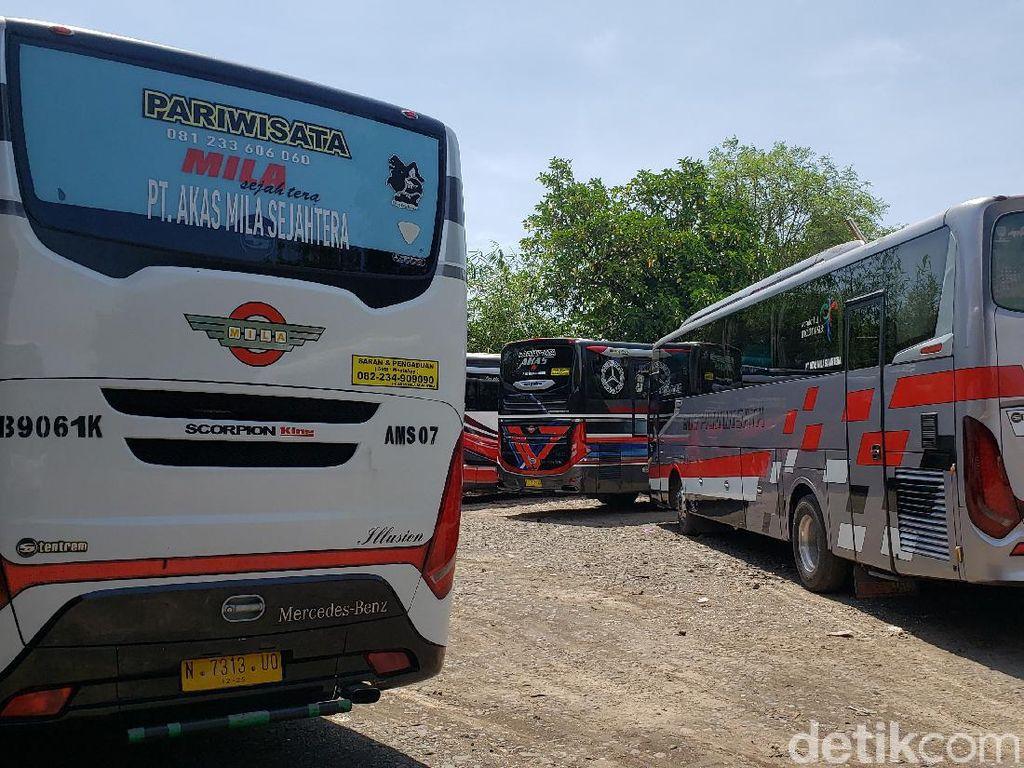 Mudik Dilarang, PO Bus di Probolinggo Raya Tak Bisa Beri THR