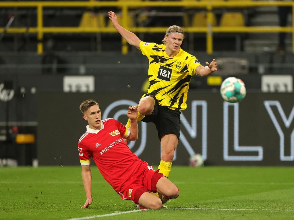 Dortmund Vs Union Berlin: Die Borussen Menang 2-0