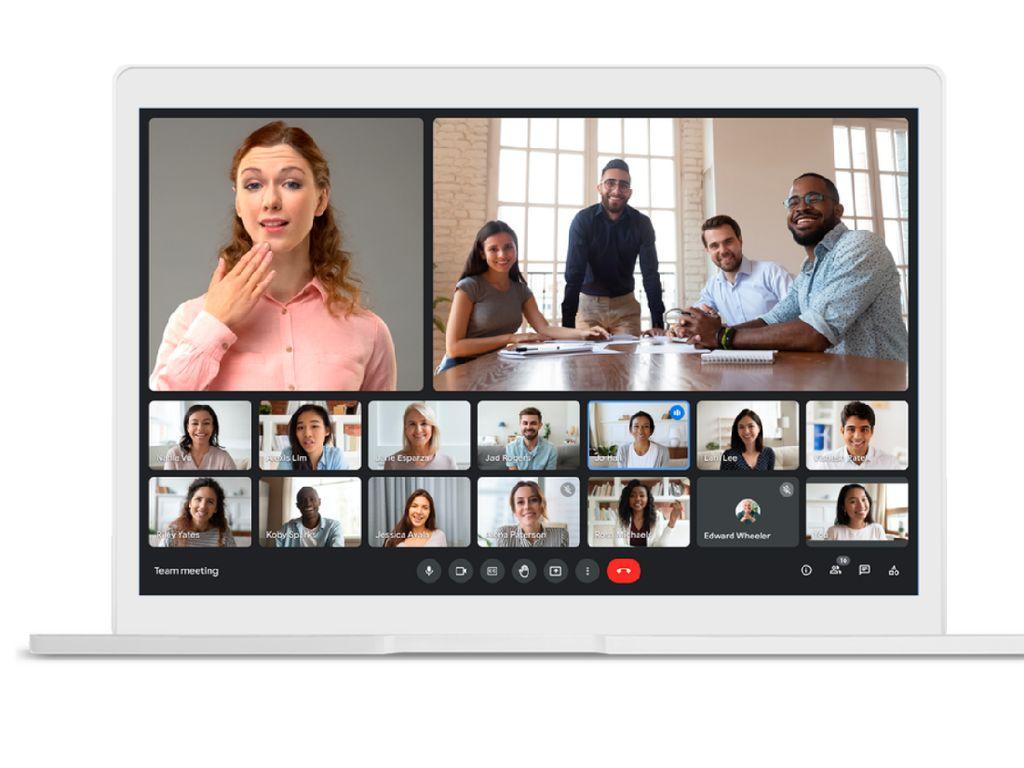 Fitur Baru Google Meet Bikin Meeting Online Hemat Kuota dan Lebih Seru